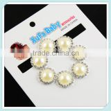 Fashion Bridal gifts shoe shop accessories making lovely elegant pearl and rhinestone shoe button clips on perfect