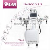 GLM multifunctional machine with cavitation+BIO+RF infrared+3D vacuum liposuction for whole body reshape