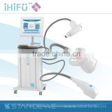 Anti aging vertical hifu wrinkle removal machine new facial care high ultrasound face lift hifu skin care beauty spa products