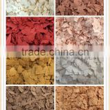 Factory Price Acrylic Color Composite Rock Chips Rock Flakes for Epoxy Resin Flooring System