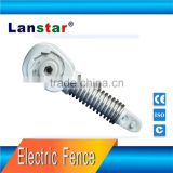 High quality tension spring for security electric fence alloy wires,tension and insulator integrated