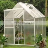 Garden Greenhouses,aluminium garden used Type and Rot Proof,Eco Friendly,Waterproof,Easily Assembled Feature flower greenhouse