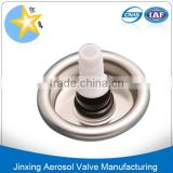 PU Aerosol Foam Valve with parts/Construction Usage Of PU Foam Spraying Valve -tube Type