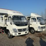 hot sale 5tons loading foton/forland dump truck/tipper body/Top quality foton tipper truck
