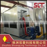 High cooling efficiency closed circuit water cooling tower