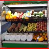 polycarbonate honeycomb act as air flow in commercial refrigeration display showcase