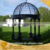 antique garden large metal frame gazebo for decoration