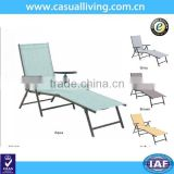 Modern single swimming pool outdoor furniture garden lounger sets
