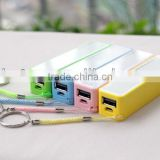 BHN777 Cheap Colorful Power bank 2600mAh Charger for Smart Mobile Phone (Portable Charger)