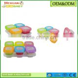 Baby Food Storage Container with Freezer Tray baby food supplement portable storage box