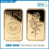 Unique Novelty Decorative Alloy Laser Eagle Pure Fine Gold Bars 50 Gram 999 Fine Gold Bar Bullion