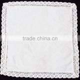 Wholesale Handkerchief Crochet Cotton Lace Cotton Handkerchief For Women