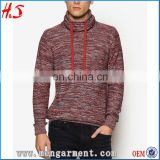 Latest men's shrug cashmere wool turtleneck sweater designs for men christmas sweaters winter