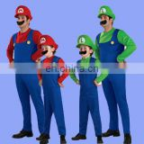 Factory direct sell super mario brothers mario costume