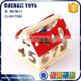 Digital intelligent house learning funny wooden toy house