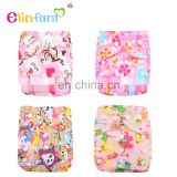 Elinfant 2017 New design OS cloth pocket diaper washable baby cloth diaper nappy