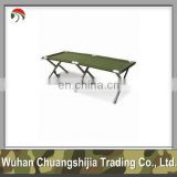 aluminum military folding camping bed