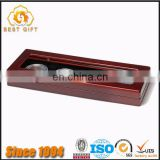 Guangdong Factory Good Quality Quick Delivery Custom Rosewood Wooden Box with Transparent Glass for Coins