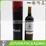 Better price round metal tin box wine storage packaging wholesale