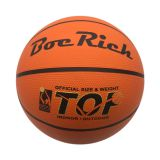 Promotional Orange Rubber Basketball