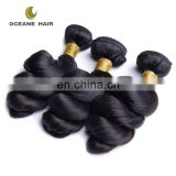 Tangle and shedding free cheap indian human hair extension on sale