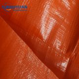 HDPE woven fabric fireproof plastic hay tarp to cover