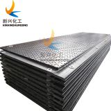 Heavy duty Hollow Construction Plastic HDPE temporary Mobile road rig mats, track mat for oil and gas industry