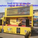 7.6 m Outdoor stage Truck Mobile Advertising Led Display
