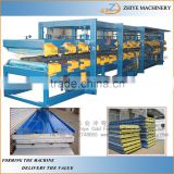 Automatic Insulated Sandwich Panels Production Line/Sandwich Panel Cold Forming Prodution Line