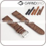 vintage style crocodile skin leather watch strap watch wristband watch wrist strap for men for women