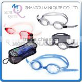 MINI QUTE Outdoor Fun & Sports 4 color Adult anti fog fashional Dive swimming goggle face plates mask NO.WMB07026