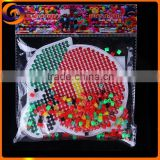 DIY puzzle hama perler beads with fruit animal shape