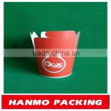 customized size&design disposable paper food container factory competitive price
