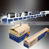 2016 Hot Selling HX-GAP Full Automatic corrugated box making corrugated cartons manufacturer in karachi