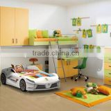 Smart design Adult Sized Car Bed With Media Function Kids Race Car Bed TC200 for boy                                                                         Quality Choice