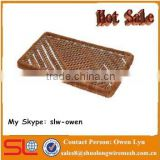 Hot Sale Bootscraper Mud Rectangle Stripes Wire Brush 16''x27'' for Australian Market