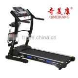 QMK-1036 motorized multi bodybuilding fitness walking machine/gym equipment 2.5HP treadmill