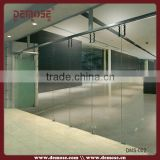 Interior Frameless Glass Bifold Door Made In China