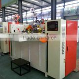 semi automatic good price corrugated cardboard stapling machine/carton box forming machine