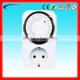 GT3-2002 German type 3500W 16A 24 hours programmable mechanical timer switch with CE GS TUV