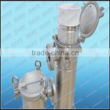 Stainless Steel Bag filter Side Entry Bottom Out Water Filter housing