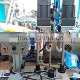 Durable factory supply semi automatic grade and capping machine type screw capping machine for botttles