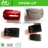 bike bicycle laser beam rear tail light