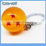 Acrylic Dragonball Ball Crystal Ball 3 Stars Keychain Keyring Pendant                                                                         Quality Choice
