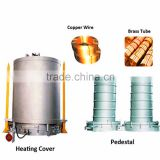 Large Load Capacity Bell Type Bright Annealing Resistance Furnace for Silicon Steel Sheet