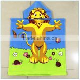 100% polyester reactive prnted microfiber baby hooded towel                                                                                                         Supplier's Choice