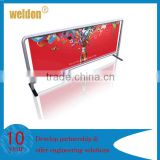 Weldon outdoor advertising cafe barrier for wind break&crowd control                                                                         Quality Choice