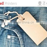 Denim Pant Jeans tag with customised design, size, & material from India