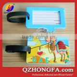 Animal Soft PVC Bag Tags for Kids