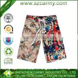 Newest Beach Leisure Fifth Flower Summer Hito Digital Printing Shorts